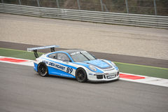 Porsche 911 GT3 2016 test at Monza Royalty Free Stock Photography