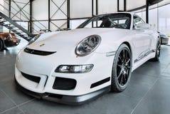 Porsche 911 GT3, voiture de course juridique de rue populaire pendant des jours de voie sur des circuits, Turnhout, Belgique images libres de droits