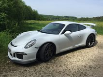 Porsche gt3 Royalty Free Stock Photography