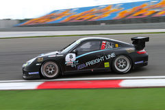 Porsche GT3 Cup Challenge Eastern Europe Royalty Free Stock Images
