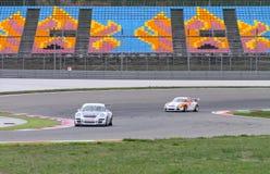 Porsche GT3 Cup Challenge Eastern Europe Stock Image