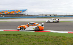 Porsche GT3 Cup Challenge Eastern Europe Stock Photography