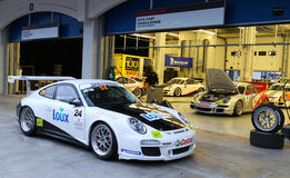 Porsche GT3 Cup Challenge Eastern Europe Stock Images