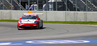 Porsche GT3 cup challenge Montreal Royalty Free Stock Photography