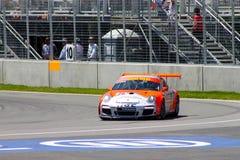 Porsche GT3 cup challenge Montreal Stock Photos