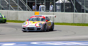 Porsche GT3 cup challenge Montreal Royalty Free Stock Photos