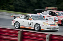 Porsche GT3 race car Stock Images