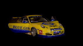 Porsche 911 het model van 2005 Stock Fotografie