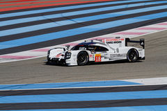Porsche 919 Hybrid through the lines Royalty Free Stock Images