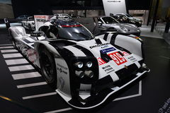 Porsche 919 Hybrid racing car Stock Photography
