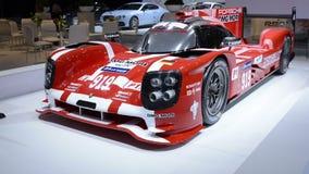 Porsche 919 Hybrid sports-prototype racing car stock video footage