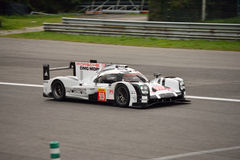 Porsche 919 Hybrid 2015 test at Monza Royalty Free Stock Image