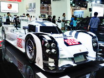 Porsche 919 hybrid at the 36th Bangkok International Motor Show Royalty Free Stock Images
