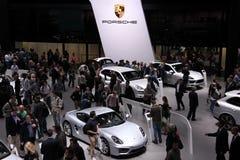Porsche at the IAA 2013, Frankfurt royalty free stock photo