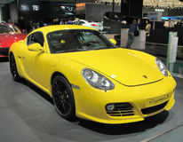 Porsche-Kaiman S Lizenzfreie Stockfotos
