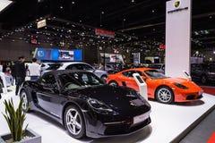 Porsche 118 kajman Arkivbilder