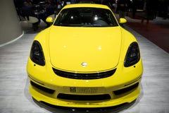 Porsche 718 kajmanu S sportów samochód Fotografia Royalty Free