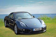 Porsche kajmanu sportów samochód Obrazy Royalty Free