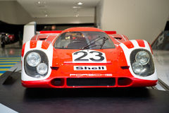 Porsche 917 KH Coupe. At Porsche Museum Royalty Free Stock Image