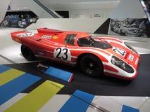 Porsche 917 KH i det Porsche museet Arkivfoton