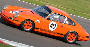 Porsche 911 Klassieke Auto Royalty-vrije Stock Foto's