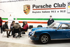 Porsche klubba Arkivbild