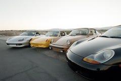 Porsche kolekcja Zdjęcia Stock