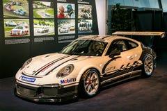 Porsche-Kop Royalty-vrije Stock Foto's
