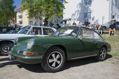 Porsche 911L on the parade of vintage cars in Savonlinna. Finland Stock Photography