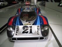 Porsche 917 LH Bieżny samochód Frontowy widok Zdjęcie Stock