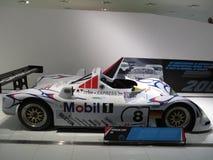 Porsche LMP1 98 dans le musée de Porsche Photographie stock