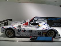 Porsche LMP1 98 in Porsche museum Stock Photography