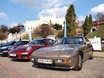 Porsche lockert Vereinbarung 2012 auf Stockfoto