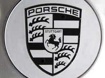 Porsche logo Royalty Free Stock Photo