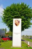 Porsche logo board Royalty Free Stock Photography