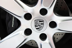 The Porsche logo Stock Image