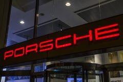 Porsche in London stock photo