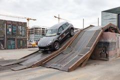 Porsche Macan aux parcours tous terrains Photos stock