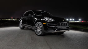 2015 Porsche Macan Turbo Obraz Stock