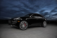 2015 Porsche Macan Turbo Royalty-vrije Stock Foto's
