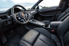 2015 Porsche Macan Turbo Obrazy Stock