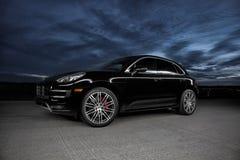 2015 Porsche Macan Turbo Royalty Free Stock Photos