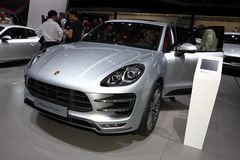 The Porsche Macan Turbo Royalty Free Stock Image