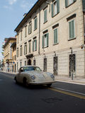 Porsche 356 at Mille Miglia 2015 Royalty Free Stock Photo