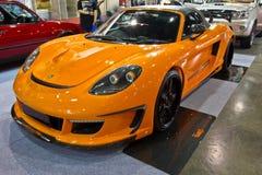 PORSCHE MIRAGE GT  show at the second Bangkok international auto Stock Photo