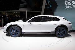 Porsche misi E krzyża Turismo pojęcia SUV samochód Obraz Royalty Free