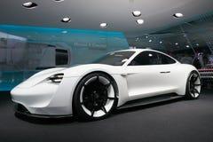 Porsche Mission E concept Stock Photos