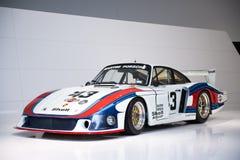 Porsche 935/78 Moby Dick Lizenzfreie Stockbilder