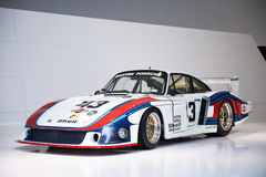 Porsche 935/78 Moby Dick. At Porsche Museum, Stuttgart, Germany Royalty Free Stock Images