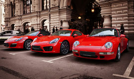 The Porsche 911 Stock Photos